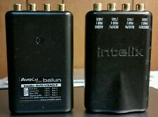 Intelix AVO-V3AD-F Component Video + Digital Audio Balun Cat5 5e HD Muxlab Niles