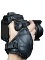 Black Hand Grip Wrist Strap PU Leather for Nikon D3400 D7500 D7200 D3300 D3200