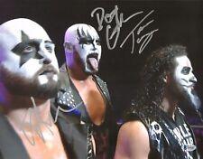 Tama Tonga Karl Anderson Luke Gallows Signed 11x14 Photo BAS COA Bullet Club WWE