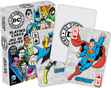 DC Comics Retro playing cards brand new sealed