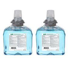 (2) GOJ535702 GO-JO INDUSTRIES Antibacterial Foam Touch-Free Refill, 1200