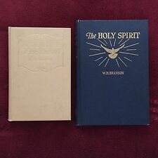 Two Vintage SDA Books by W H Branson: In Defense of the Faith ~ The Holy Spirit