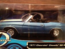 1971 Chevrolet Chevelle Convertible Die Cast 1/18  NEW IN BOX