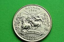 2006-D  BU  Mint State  (NEVADA)  Statehood  US Quarter
