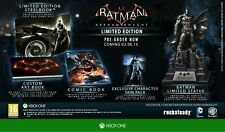 BATMAN ARKHAM KNIGHT LIMITED COLLECTORS  EDITION  XBOX ONE NEW AND SEALED