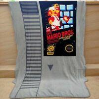 Super marito BROS fleece Blankets Throws quilt blanket  anime 117x152cm