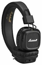 Marshall Major II Wireless Bluetooth Foldable Headphone with Mic + Remote Black