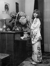 DANY SAVAL , KIMONO JAPONAIS  TIRAGE ARGENTIQUE  ORIGINAL