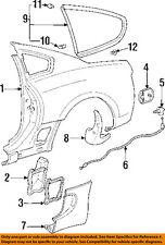TOYOTA OEM 93-98 Supra Exterior-Molding Trim Right 7506519045
