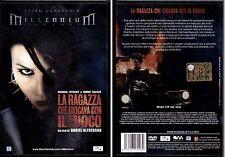 LA RAGAZZA CHE GIOCAVA CON IL FUOCO - DVD NUOVO E SIGILLATO, PRIMA STAMPA