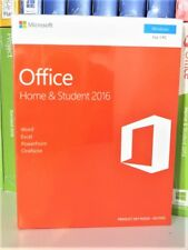 Microsoft Office 2016 Home and Student 79g-04597 Medialess P2 UK 1pc