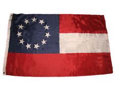 3x5 Stars and Bars First National 11 Southern States CSA Civil War flag