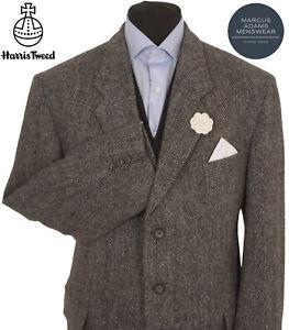 Harris Tweed Jacket Blazer 46S Herringbone Country Weave Hacking Hunting Sports