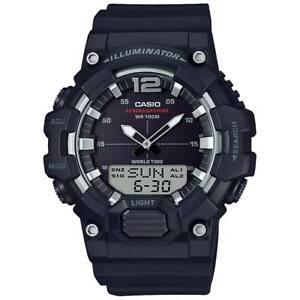 Casio HDC700-1AV, 10 Year Battery Watch, World Time, Chrono, 3 Alarms, Telememo