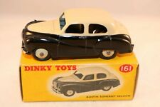 Dinky Toys 161 Austin Somerset Saloon 2 tone black and cream mint in box