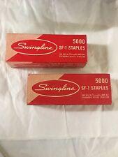 Vintage Lot Of 2 Boxes Swingline SF-1 10,000 Staples