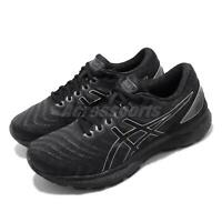Asics Gel-Nimbus 22 Triple Black Mens Road Running Shoes 1011A680-002