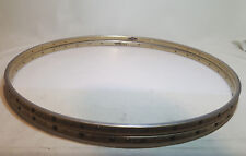 One pair of NISI  Moncalieri anodizzato tubular rims  made in Italy Rare!