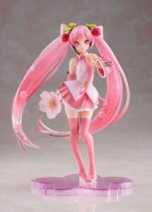 Taito Vocaloid PVC Statue Hatsune Miku Sakura Miku 2021 Ver. 18 cm