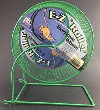 """Prevue Hendryx E-Z Roller Exercise Wheel - 6"""" - 90012W Hamster Gerbils New"""