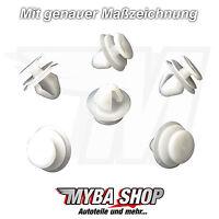 5x Verkleidungs Clips Klammern Nylon für Renault Peugeot Citroen6991S6