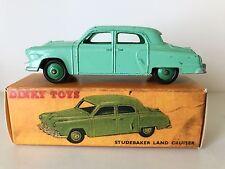 DINKY TOYS STUDEBAKER LAND CRUISER- No. 172 - GOOD W/BOX - 1954-1959 HTF MODEL