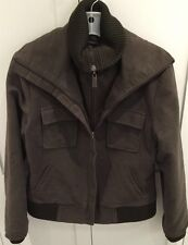 THE PEOPLE HAVE SPOKEN MEN'S BROWN JACKET SIZE LARGE FALL WINTER COAT
