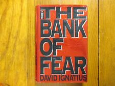 """DAVID IGNATIUS  Signed  Book (""""THE  BANK  OF  FEAR""""-1994 First Edition Hardback)"""