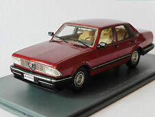 ALFA ROMEO 6 2500i 1985 DARK RED METAL NEO 45605 1/43 METALLIC ROUGE FONCE LHD