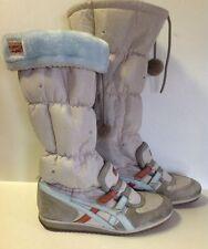 Onitsuka Tiger Womens Winter Sneaker Boots Snow MSRP $170! SZ 8.5 HN582