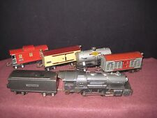 1936 Lionel 'O': 259E Locomotive w/Four 8 wheel Freight cars. Running RTR C-6 bd