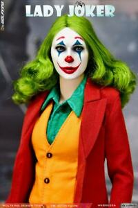 """WOLFKING 1/6 Red Clothes Girl Joker Action Figure WK89022B 12"""" Female Doll Model"""