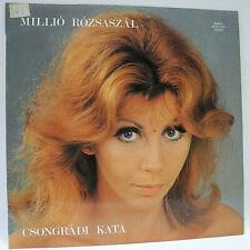 CSONGRADI KATA - MILLIO ROZSASZAL - NEAR MINT GRADED 1986 HUNGARIAN IMPORT VINYL