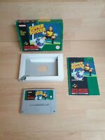 Super Soccer - PAL - Super Nintendo SNES - Boxed + Manual - TESTED
