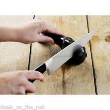 Jamie Oliver Profesional realmente fuerte Cuchillo de cocina, cuchillos, hoja Afilador Herramienta