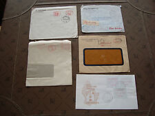 EUROPE - 5 enveloppes sans timbres (cy81)