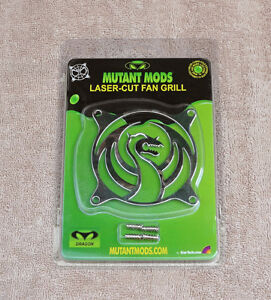 Mutant Mods Dragon 80mm Silver Chrome Laser Cut Fan Grill Guard by Startech.com