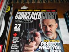 CONCELED CARRY HANDGUNS   magazine  2018  #203  SELF-DEFENSE BUYER'S GUIDE  K-19