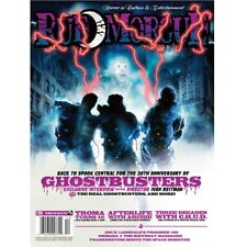 RUE MORGUE MAGAZINE #151 Dec 2014 Ghostbusters TROMA turns 40 Listed as RARE