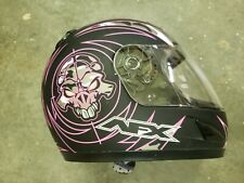 DOT Full Face Motorcycle Helmet Great Shape! Youth S