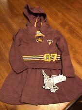 Girls 2t Harry Potter Hooded Dress Nwt