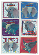 """25 Dumbo Movie Stickers, 2.5"""" x 2.5"""" each, Party Favors"""