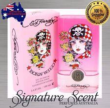 ED HARDY BORN WILD 100ml EDP By CHRISTIAN AUDIGIER (Sp) Perfume NEW In Box(BNIB)