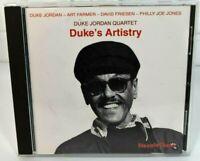 Duke Jordan Quartet-Duke's Artistry (IMPORT) CD VG 1987
