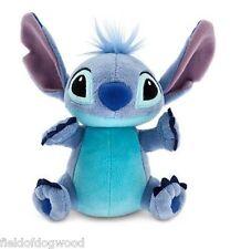 "NWT Disney Store Lilo & Stitch Blue Plush Toy Doll 6"" H Stuffed Animal Mini Bean"