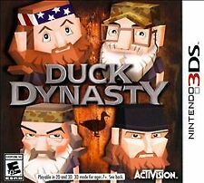 (NEW SEALED) DUCK DYNASTY NINTENDO 3DS VIDEO GAMES GAME KIDS