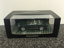 Bentley Continental GTC 2011 Green 1:43 MINICHAMPS