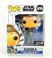 Funko POP AHSOKA Star Wars Clone Wars Rebels The Mandalorian GameStop Exclusive