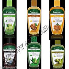 Natural Amla Argan Black Seed Neem Olive Almond Hair Oil All Hair Types 200ml