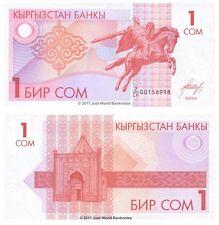 Kyrgyzstan 1 som 1993 P-4 billets UNC